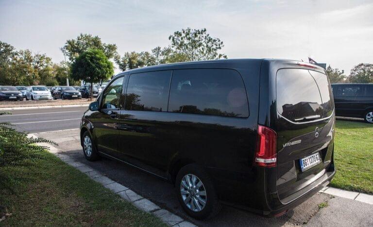 Lux minivan in Belgrade