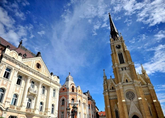 Day trip from Belgrade to Novi Sad