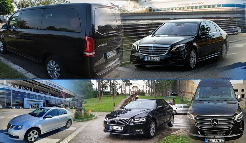 Vehicles of Serbia transfers chauffeur service