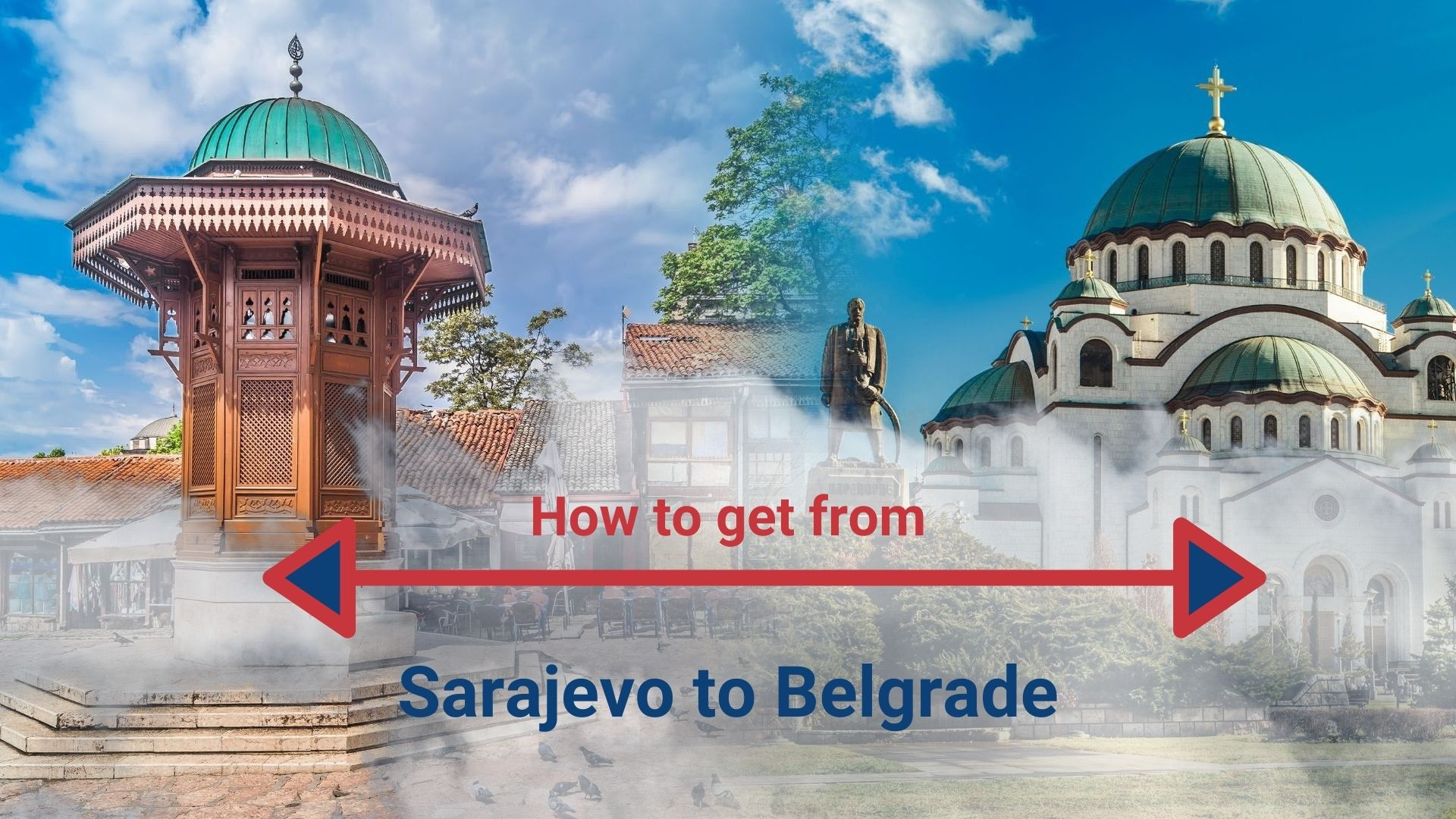 How do I get from Belgrade to Sarajevo